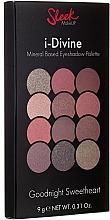 Düfte, Parfümerie und Kosmetik Lidschatten-Palette - Sleek MakeUP i-Divine Mineral Based Eyeshadow Palette