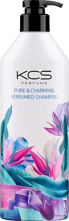 Parfümiertes Shampoo für trockenes und strapaziertes Haar - KCS Pure & Charming Perfumed Shampoo