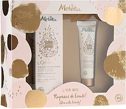 Düfte, Parfümerie und Kosmetik Haar- und Handpflegeset - Melvita L'Or Bio (Haaröl 50ml + Handcreme 30ml)