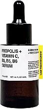 Düfte, Parfümerie und Kosmetik Nährendes Gesichtsserum mit Vitaminkomplex und Propolisextrakt für mehr Vitalität und Elastizität - Toun28 Propolis Vitamin C, B3, B5, B6 Serum