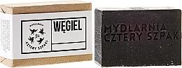 Düfte, Parfümerie und Kosmetik Entgiftende Seife mit Aktivkohle - Cztery Szpaki Soap
