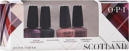 Düfte, Parfümerie und Kosmetik Nagelset - OPI Scotland Nail Lacquer Set