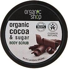 "Düfte, Parfümerie und Kosmetik Körper Scrub ""Belgische Schokolade"" - Organic Shop Body Scrub Organic Cocoa & Sugar"
