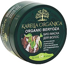 Düfte, Parfümerie und Kosmetik Intensiv stärkende und regenerierende Bio Maske mit Birkensaft für strapaziertes Haar - Fratti HB Karelia Organica