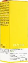 Düfte, Parfümerie und Kosmetik Erfrischendes und beruhigendes Gel für müde Beine mit Arnika-Extrakt, Hamamelis-Blütenwasser und Menthol - Decleor Arnica Invigorating Leg Gel