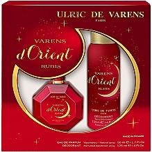 Düfte, Parfümerie und Kosmetik Ulric de Varens D'orient Rubis - Duftset (Eau de Parfum 50ml + Deospray 125ml)