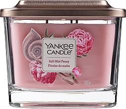 Düfte, Parfümerie und Kosmetik Duftkerze Salt Mist Peony - Yankee Candle Elevation Salt Mist Peony