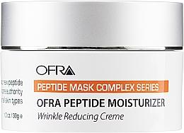 Düfte, Parfümerie und Kosmetik Feuchtigkeitsspendende Anti-Falten Gesichtscreme mit Peptiden, Vitamin E und Zitronenextrakt - Ofra Peptide Moisturizer