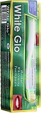 Düfte, Parfümerie und Kosmetik Zahnpflegeset - White Glo Herbal White (Zahnpasta 100ml + Zahnbürste 1 St.)
