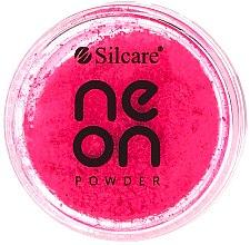 Düfte, Parfümerie und Kosmetik Glitterpuder für Nägel - Silcare Neon Powder