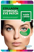 Düfte, Parfümerie und Kosmetik Feuchtigkeitsspendende Augenpatches mit Kollagen, Gurken- und Algenextrakt - Beauty Face Cucumber & Algae Hydrating & Whitening Collagen Eye Patch