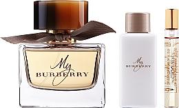 Düfte, Parfümerie und Kosmetik Burberry My Burberry - Duftset (Eau de Parfum/90ml + Körperlotion/75ml + Eau de Parfum/7,5ml)