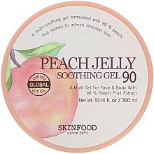 Düfte, Parfümerie und Kosmetik Beruhigendes Körpergel mit Pfirsichextrakt - Skinfood Peach Jelly Soothing Gel