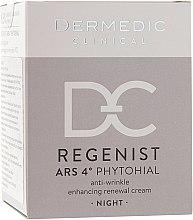 Düfte, Parfümerie und Kosmetik Regenerierende Nachtscreme 40+ - Dermedic Regenist ARS 4 Phytohial Night Anti-Wrinkle Enhancing Renewal Cream
