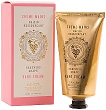 Düfte, Parfümerie und Kosmetik Nährende schützende und aufweichende Handcreme mit weißem Traubenextrakt - Panier Des Sens Renewing Grape Hand Cream