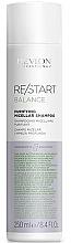 Düfte, Parfümerie und Kosmetik Tiefenreinigendes und balancierendes Mizellen-Shampoo - Revlon Professional Restart Balance Purifying Micellar Shampoo