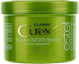Düfte, Parfümerie und Kosmetik Nährende Haarmaske mit Weizenproteinen, Lecithin und Vitaminkomplex - Estel Professional Curex Classic