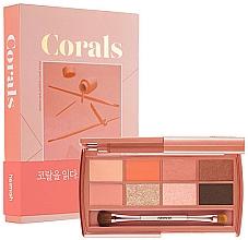 Düfte, Parfümerie und Kosmetik Lidschattenpalette - Heimish Dailism Eye Palette Coral Essay