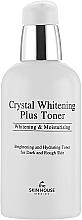 Düfte, Parfümerie und Kosmetik Aufhellendes und feuchtigkeitsspendendes Gesichtstonikum für hyperpigmentierte Haut - The Skin House Crystal Whitening Plus Toner