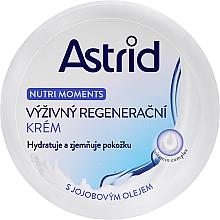 Düfte, Parfümerie und Kosmetik Pflegende und regenerierende Körper- und Gesichtscreme mit Vitaminkomplex - Astrid Nutri Moments Nourishing Regenerating Cream