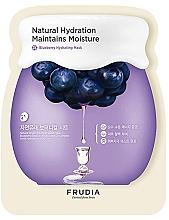 Düfte, Parfümerie und Kosmetik Feuchtigkeitsspendende Tuchmaske mit Heidelbeerextrakt - Frudia Hydrating Blueberry Mask