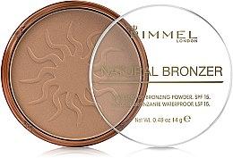 Düfte, Parfümerie und Kosmetik Bronzing Gesichtspuder - Rimmel Natural Bronzer Powder
