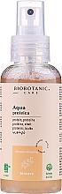Düfte, Parfümerie und Kosmetik Pflegendes, regenerierendes und stärkendes Haarspülung-Spray mit Weizenproteinen ohne Ausspülen - BioBotanic BioCare Aqua Wheat Protein