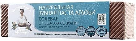 Natürliche Zahnpasta mit Salz - Rezepte der Oma Agafja — Bild N4