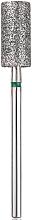 Düfte, Parfümerie und Kosmetik Diamant-Nagelfräser Zylinder 6,0 mm L-13,0 mm grün - Head The Beauty Tools