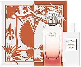 Düfte, Parfümerie und Kosmetik Hermes Un Jardin Sur La Lagune - Duftset (Eau de Toilette 100ml + Körperlotion 80ml)