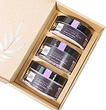 Düfte, Parfümerie und Kosmetik Körperpflegeset mit Acai-Beere - Nature Queen (Peeling 250g + Körperbutter 150ml + Lotion 200ml)