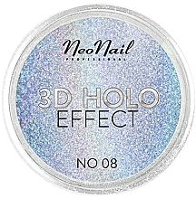 Düfte, Parfümerie und Kosmetik Schimmerndes Nagelpulver 3D Holo Effect - NeoNail Professional 3D Holo Effect