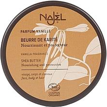 Düfte, Parfümerie und Kosmetik Bio Sheabutter mit Vanille für Körper und Haare - Najel