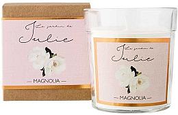 Düfte, Parfümerie und Kosmetik Duftkerze Magnolie - Ambientair Le Jardin de Julie Magnolia