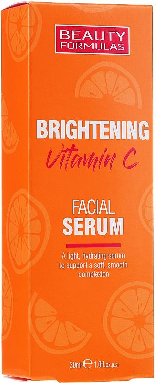 Aufhellendes Gesichtsserum mit Vitamin C - Beauty Formulas Brightening Vitamin C Facial Serum