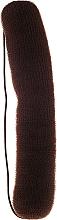 Düfte, Parfümerie und Kosmetik Haarroller 230 mm braun - Ronney Professional Hair Bun With Rubber 062