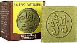Düfte, Parfümerie und Kosmetik Mini Aleppo-Seifen aus Olivenöl und Lorbeerbeerenöl - Najel Aleppo Soap Olive & Bay Laurel Oils