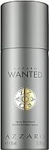 Düfte, Parfümerie und Kosmetik Azzaro Wanted - Deodorant