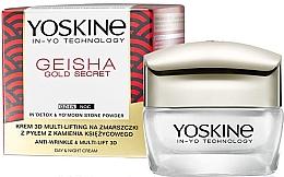 Düfte, Parfümerie und Kosmetik Anti-Falten Liftingcreme für das Gesicht - Yoskine Geisha Gold Secret Anti-Wrinkle & Multi-Lift 3D Cream