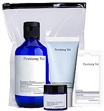 Düfte, Parfümerie und Kosmetik Gesichtspflegeset - Pyunkang Yul Skin Set (Gesichtscreme 9ml + Gesichtstoner 100ml + Gesichtsreinigungsschaum 40ml + Gesichtslotion 7ml)