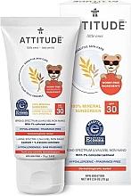 Düfte, Parfümerie und Kosmetik Sonnenschutzcreme für Kinder SPF 30 - Attitude Little Ones Sensitive Skin Sunscreen SPF 30