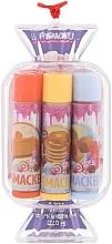 Düfte, Parfümerie und Kosmetik Lippepflegeset - Lip Smacker Candy Purple (Lippenbalsam 3 St. x 4g)