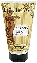 Düfte, Parfümerie und Kosmetik Haarspülung mit farblosem Hennaextrakt für glänzendes, geschmeidiges und leicht kämmbares Haar - Styx Naturcosmetic Henna Balsam