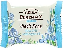 """Düfte, Parfümerie und Kosmetik Seife """"Blaue Iris"""" mit Arganöl - Green Pharmacy"""