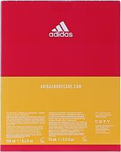 Adidas Get Ready! For Her - Körperpflegeset (Parfümiertes Körperspray 75ml + Duschgel 250ml) — Bild N4