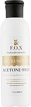 Düfte, Parfümerie und Kosmetik Nagelgel Entferner acetonfrei - F.O.X Gel Remover Acetone-Free