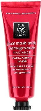 Revitalisierende und strahlende Gesichtsmaske mit Granatapfel - Apivita Revitalizing and Radiance Mask