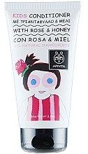 Düfte, Parfümerie und Kosmetik Haarspülung für Kinder mit Rose und Honig - Apivita Babies & Kids Natural Baby Kids Conditioner With Honey & Rose Bulgarian