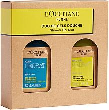 Düfte, Parfümerie und Kosmetik Körperpflegeset - L'Occitane Cedrat Duo Set (Duschgel 250ml + Duschgel 250ml)