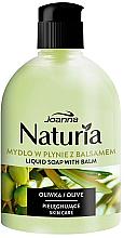 Düfte, Parfümerie und Kosmetik Cremige Flüssigseife mit Olivenextrakt und Glycerin - Joanna Naturia Olive Liquid Soap